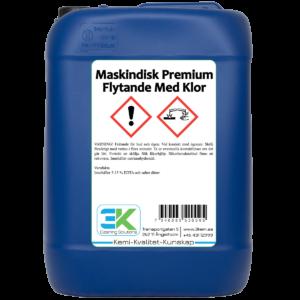 Maskindisk Premium Flytande Med Klor