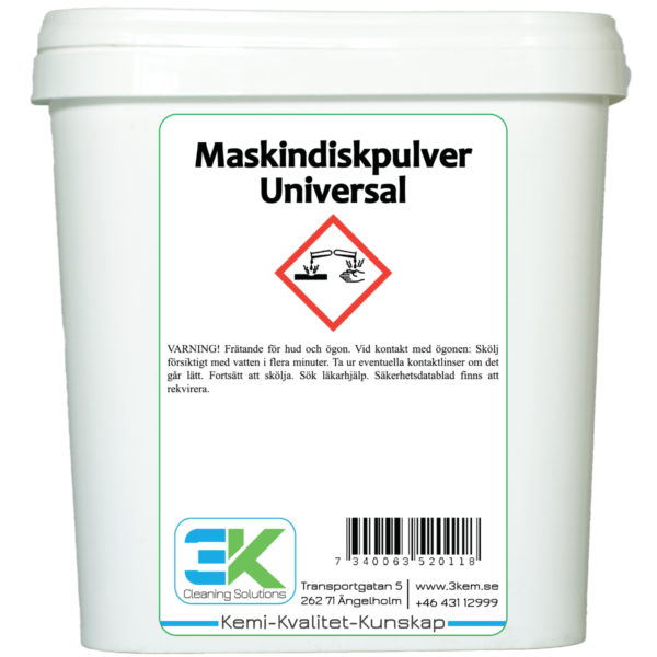 Maskindiskpulver Universal