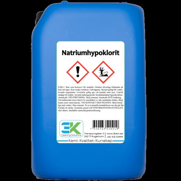 natriumhypoklorit